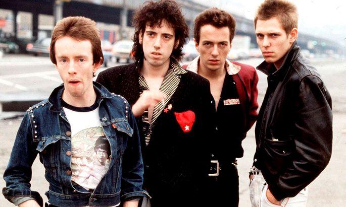 """London Calling"" oder ""London's Burning""? The Clash, um 1978."