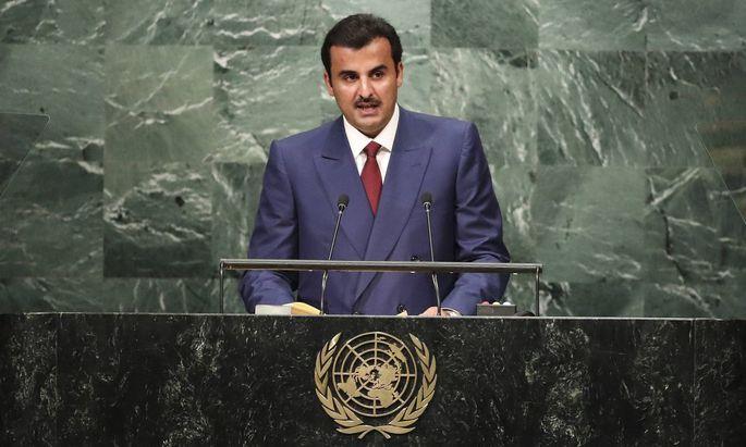 Emir von Katar, Scheich Tamim bin Hamad al-Thani