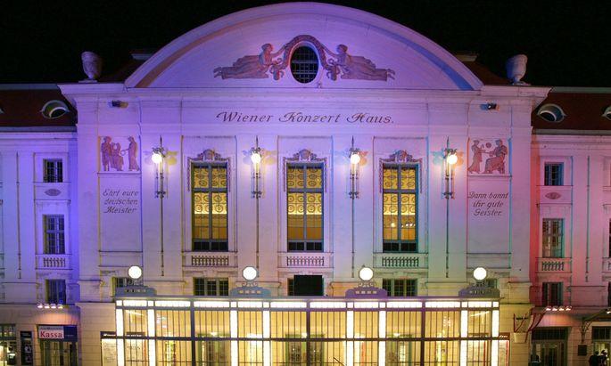 Themenbild: Wiener Konzerthaus