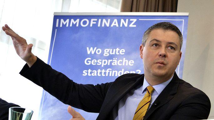 Immofinanz-Chef Oliver Schumy will mit Zukäufen hoch hinaus.