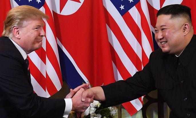 Trump und Kim - es könnte ein drittes Treffen in den nächsten Monaten geben.