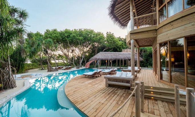 Barfußluxus. Eine Insel, ein Resort: Soneva Fushi auf Kunfunadhoo.