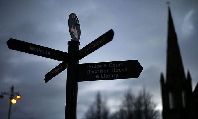 Rotherham, düstere Stadt