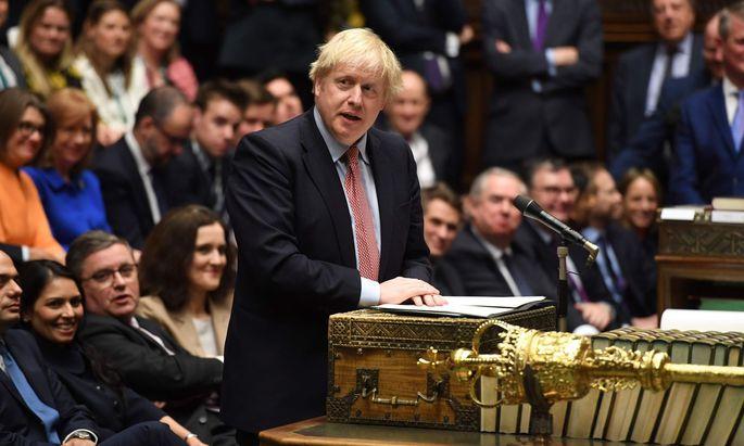 """""""Johnson macht viel Lärm, aber es gibt keinen Grund, ihm Vertrauen zu schenken"""", sagt Politologe David Bell."""