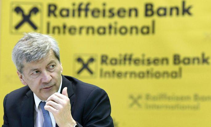 Raiffeisen Bank International AG-CEO Johann Strobl