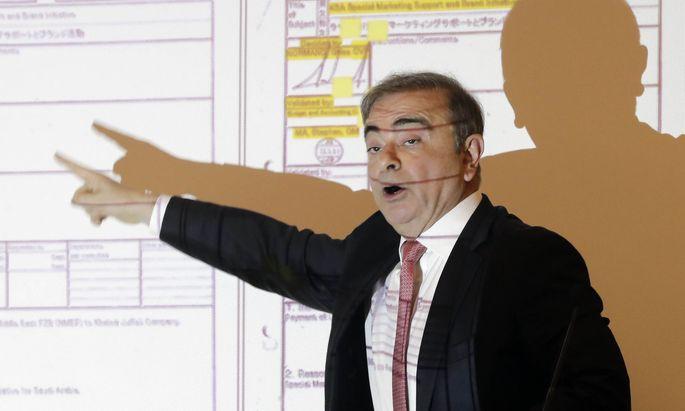 """Ex-Nissan-Chef Carlos Ghosn will nicht über seine Flucht sprechen, sondern vielmehr seine """"Ehre wiederherstellen""""."""