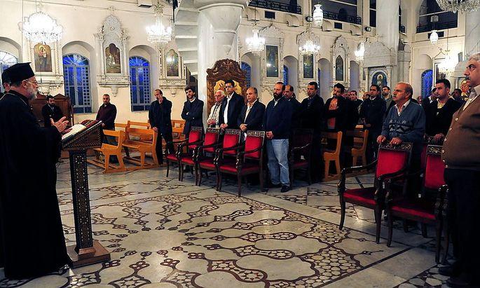 Syriens Christen geraten immer mehr in Bedrängnis: Bittgottesdienst in Damaskus