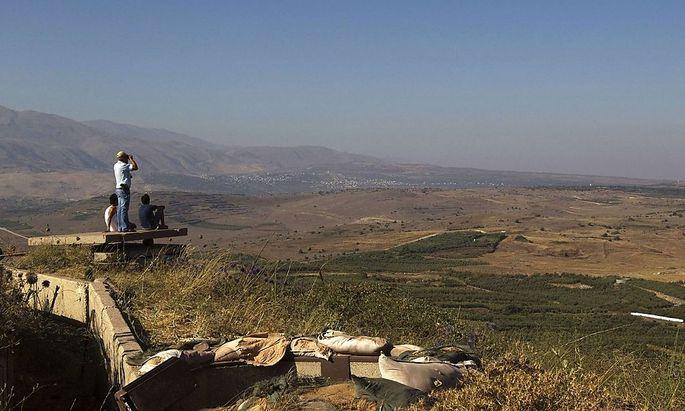 Bericht: Israel bot Syrien Rückgabe der Golan-Höhen an