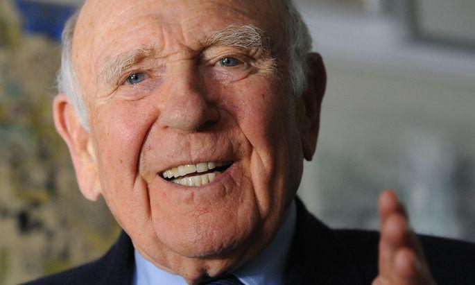 Gerd Bacher war zwischen 1967 und 1994 zwanzig Jahre Generalintendant.