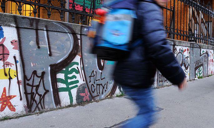 Graffiti in Wien-Neubau