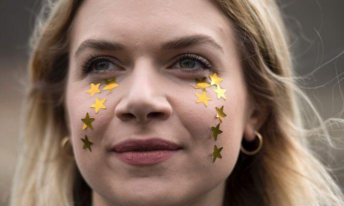 """""""See EU later"""": Junge Briten haben die Hoffnung auf eine Rückkehr in die EU nicht aufgegeben."""