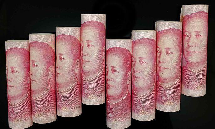 Chinas Acquisitionen werden freilich hauptsächlich in Dollar getätigt.....