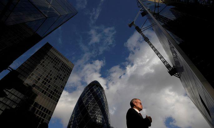 Die Sales Boys in der Londoner City: Einbildung und Motivation waren alles.