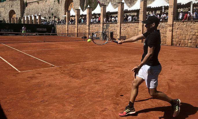 Dominic Thiem schlägt sich mit Doppelpartner Jürgen Melzer für Monte Carlo ein.