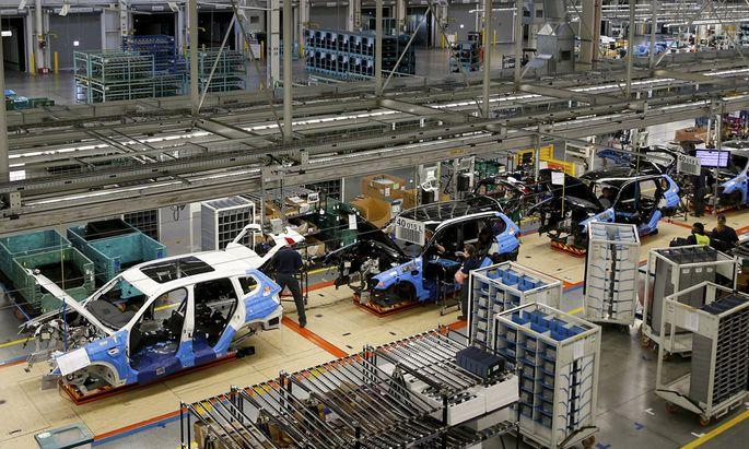 Automobilwerk von BMW in den USA