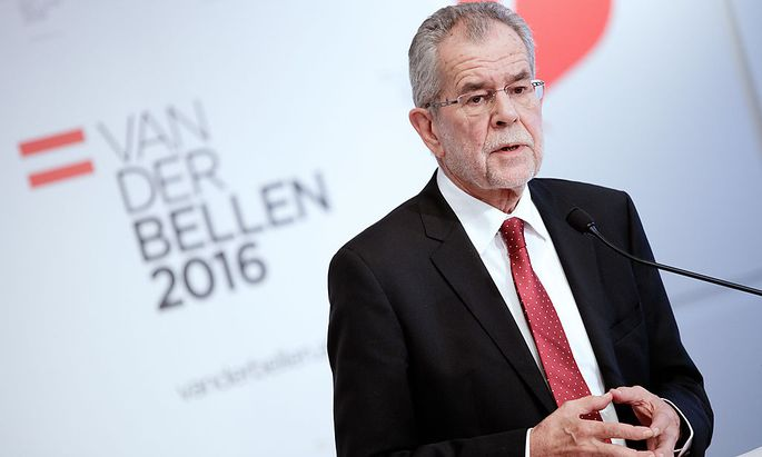 Präsidentschaftskandidat Alexander Van der Bellen