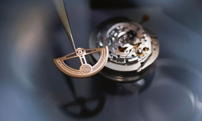 Mehr Service. IWC verlängert die Garantie seiner Uhren von zwei auf acht Jahre.