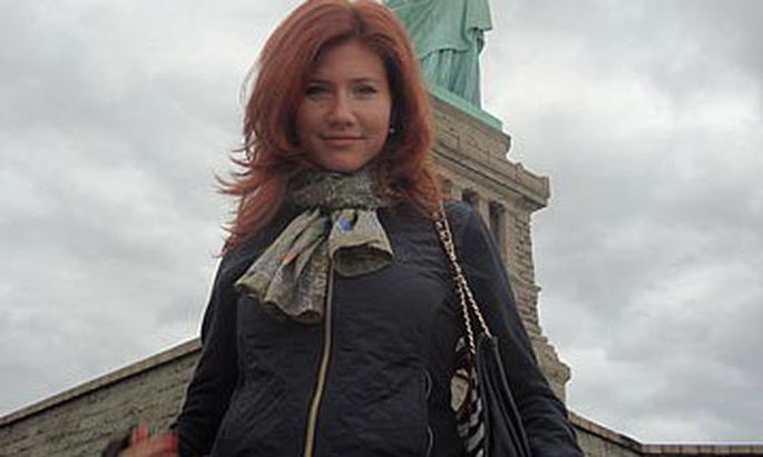Anna Chapman Raetselhafte Geheimwaffe