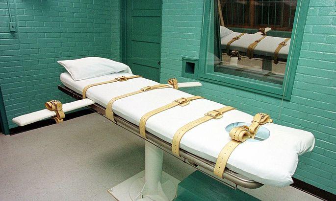 In Virginia sollen künftig keine Todesurteile mehr vollstreckt werden. Archivbild einer Hinrichtungszelle im Bundesstaat Texas.