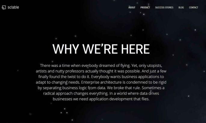 Screenshot sclable.com