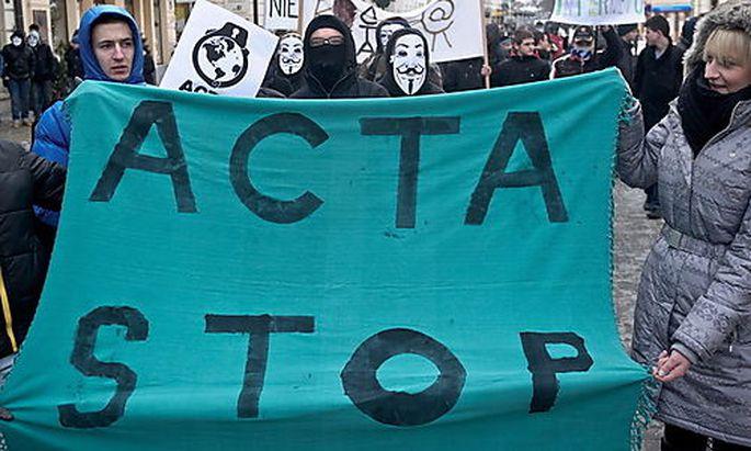 POLAND PROTEST ACTA