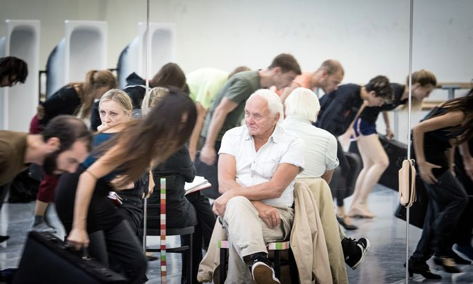 Tanzberserker. Der 79-jährige Choreograf Johann Kresnik steht noch immer unter Volldampf.