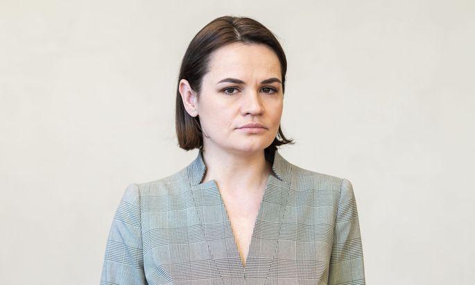 """Swetlana Tichanowskaja: """"Ich verschleiere meine Botschaften nicht."""""""