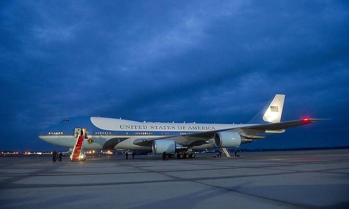 """Bald sollen zwei neue """"Air Force One""""-Flugzeuge im Einsatz sein."""