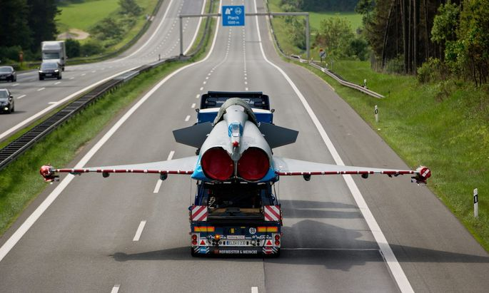 Nicht jeder Eurofighter kann fliegen.