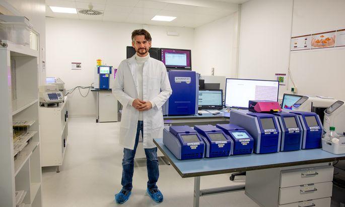 Daniel Wallerstorfer, Gründer und Geschäftsführer von Novogenia.