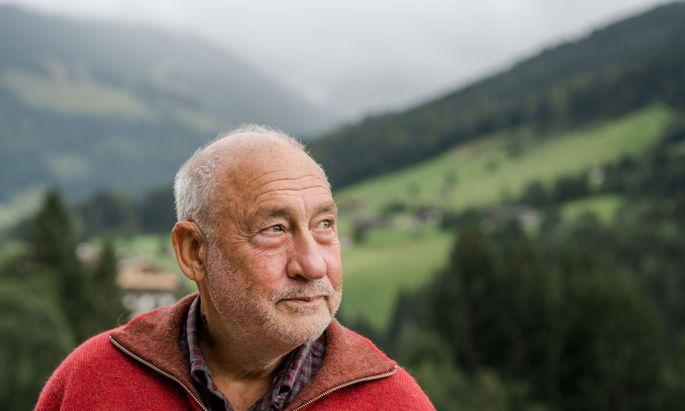 Wirtschaftsnobelpreisträger Joseph E. Stiglitz in Alpbach
