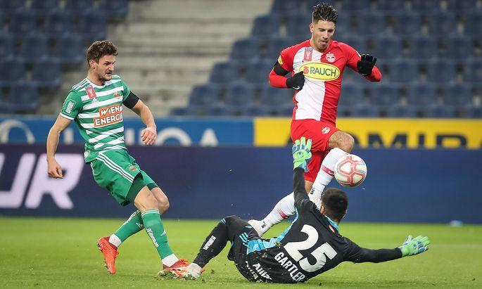 Dominik Szoboszlai trifft für Salzburg