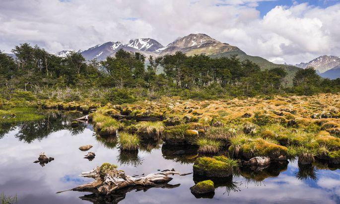 Winterspiele in diesem Idyll? Ushuaia und Argentinien brachten sich als alternative Notlösung für 2026 ins Spiel.