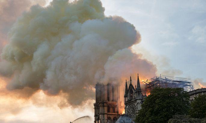 Der Schock über die Flammen sitzt tief.