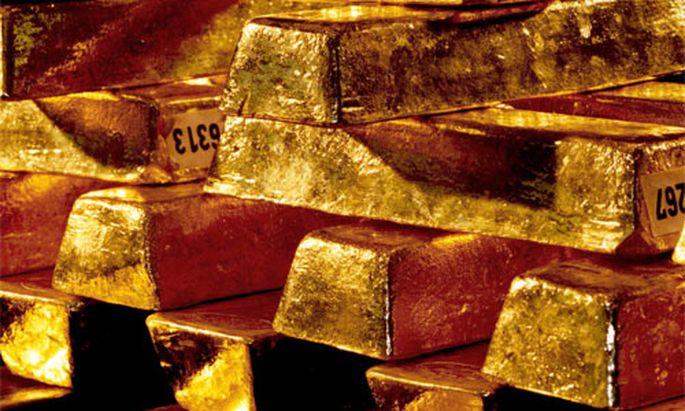 Banken tauschen Gold gegen