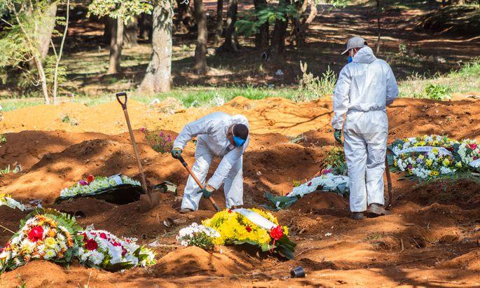 Die Zahl der Toten erhöhte sich in Brasilien auf 82.771.