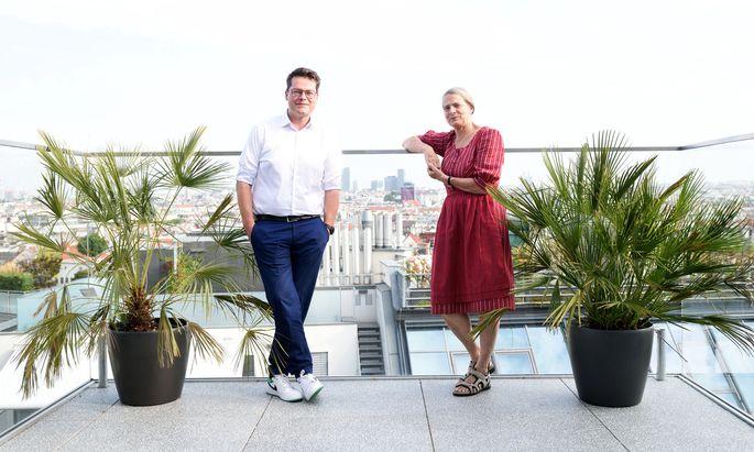 Nicht immer einer Meinung, aber dieselbe Vision: Jürgen Czernohorszky und Helga Kromp-Kolb.
