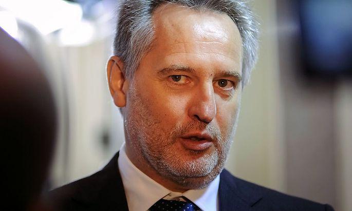 Firtash, one of Ukraine's richest men, is seen in Kiev