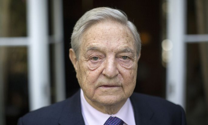 Billionaire George Soros Speaks On New Book