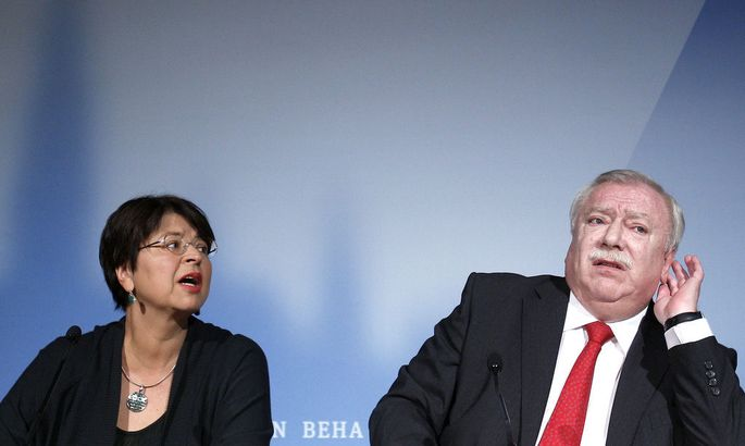 Renate Brauner und Michael Häupl
