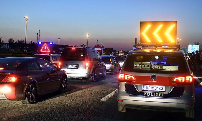 Auch am Grenzübergang Nickelsdorf wird verstärkt kontrolliert.