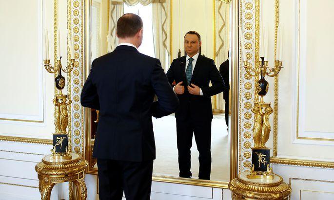Andrzej Duda bleibt im Amt.