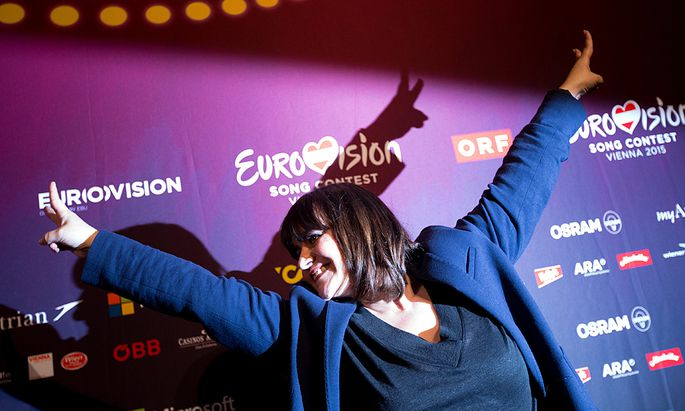 EUROVISION SONG CONTEST 2015 - PK FRANKREICH: LISA ANGELL