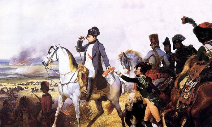 Gemälde: Die Schlacht bei Wagram