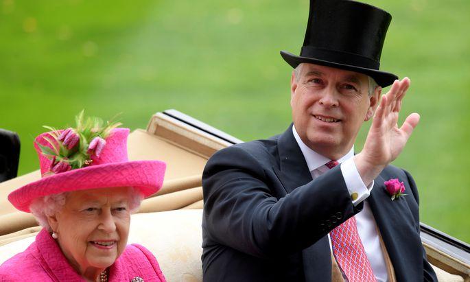 Queen Elizabeth II. hat die geplante Geburtstagsparty ihres Sohnes, Prinz Andrew, abgesagt.