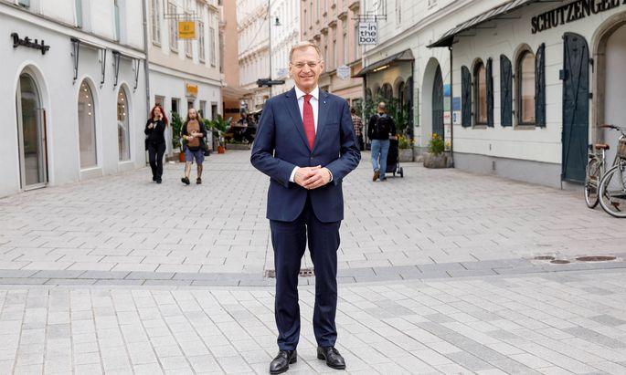 Thomas Stelzer, Landeshauptmann in Oberösterreich und Stellvertreter von ÖVP-Chef Sebastian Kurz.