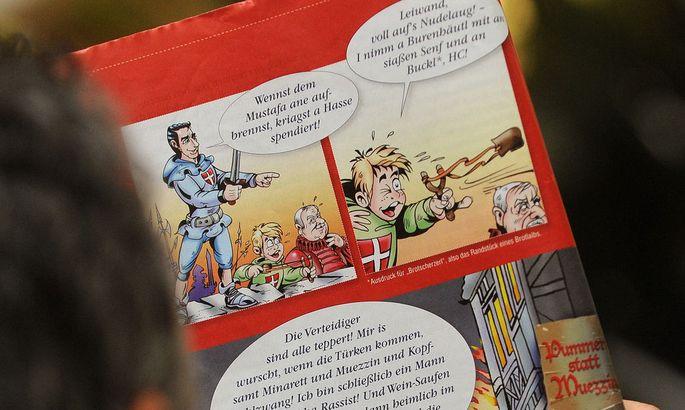 Aus einem FPÖ-Comic über die Türkenbelagerung 1683 (2010).