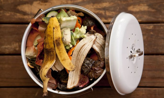 In Österreich landen pro Kopf und Jahr 33 Kilo Lebensmittel im Müll; 57 Prozent wären vermeidbar.