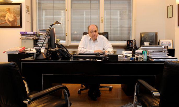 Ariel Muzicant, Vizepräsident des Jüdischen Weltkongresses und des Europäischen Jüdischen Kongresses