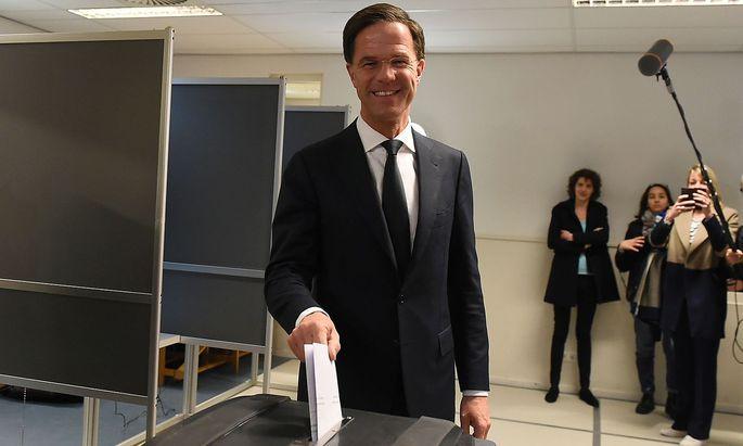 Mark Rutte könnte nach der Parlamentswahl sein drittes Kabinett bilden.
